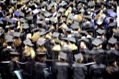 Ceremonia de graduación Imágenes de archivo libres de regalías