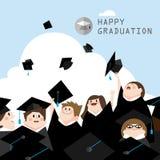 Ceremonia de graduación libre illustration
