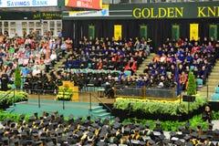 Ceremonia 2014 de graduación de la universidad de Clarkson Fotografía de archivo