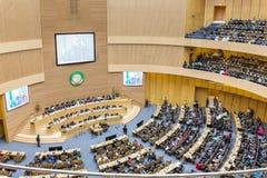 Ceremonia de inauguración del 50.o aniversario del OAU/AU Foto de archivo
