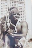 Ceremonia de inauguración hawaiana tradicional de Eddie Aikau Foto de archivo libre de regalías