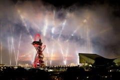 Ceremonia de inauguración olímpica 2012 Imágenes de archivo libres de regalías