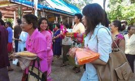 Ceremonia de Katin Foto de archivo libre de regalías