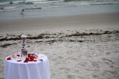 Ceremonia de la arena en la playa Foto de archivo