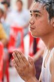 Ceremonia de la ordenación, monje Imágenes de archivo libres de regalías