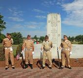 Ceremonia de Memorial Day Fotografía de archivo