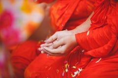 Ceremonia de Songkran imagen de archivo libre de regalías