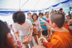 Ceremonia de Songkran imágenes de archivo libres de regalías
