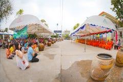 Ceremonia de Songkran foto de archivo libre de regalías