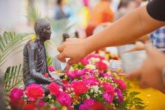 Ceremonia de Songkran fotos de archivo libres de regalías
