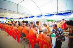 Ceremonia de Songkran fotografía de archivo