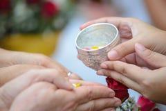 Ceremonia de Songkran, Año Nuevo tailandés Fotografía de archivo