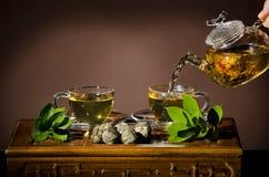 Ceremonia de té Imagen de archivo