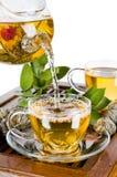 Ceremonia de té Imágenes de archivo libres de regalías