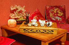 Ceremonia de té Fotos de archivo