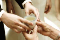 Ceremonia de té Foto de archivo libre de regalías