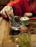 Ceremonia de té china Fotografía de archivo
