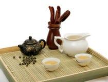 Ceremonia de té china Imagenes de archivo