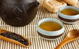 Ceremonia de té china Todavía vida 1 Imagenes de archivo
