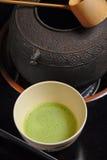 Ceremonia de té japonesa Imágenes de archivo libres de regalías