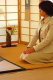 Ceremonia de té japonesa Fotos de archivo