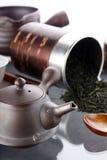 Ceremonia de té tradicional Foto de archivo libre de regalías