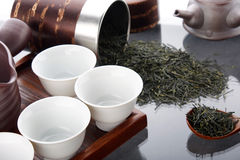 Ceremonia de té tradicional Imágenes de archivo libres de regalías