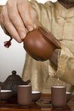 Ceremonia de té Fotografía de archivo libre de regalías