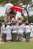 Ceremonia del Balinese Fotografía de archivo