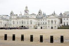 Ceremonia del desfile de los protectores de caballo de Londres Fotos de archivo libres de regalías