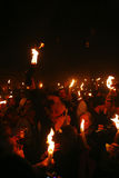 Ceremonia del milagro santo del fuego Imagen de archivo libre de regalías