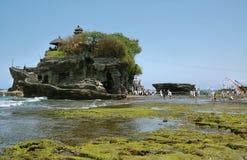 Ceremonia del templo de la porción de Tanah Foto de archivo libre de regalías