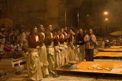 ceremonia hinduska Zdjęcia Stock