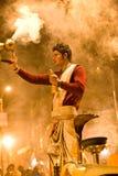 ceremonia hinduska Obrazy Royalty Free