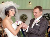 ceremonia ślub Fotografia Royalty Free