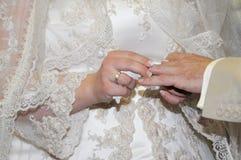 ceremonia ślub Zdjęcia Royalty Free