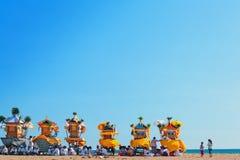 Ceremonia Melasti del Balinese antes del día de Nyepi Imágenes de archivo libres de regalías