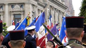 Ceremonia para marcar armisticio occidental de la victoria de la Segunda Guerra Mundial de los aliados Imagen de archivo libre de regalías