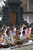 Ceremonia religiosa de Hindus Foto de archivo