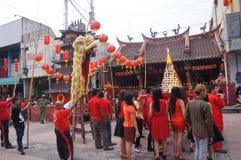 Ceremonia ritual china Foto de archivo