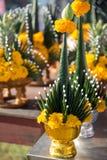 Ceremonia tailandesa de la bendición fotos de archivo