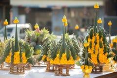 Ceremonia tailandesa de la bendición imagen de archivo