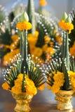 Ceremonia tailandesa de la bendición imagenes de archivo