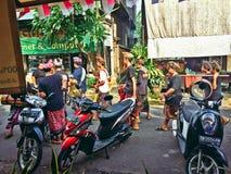 Ceremonia tradicional del Balinese Fotos de archivo