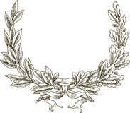 Ceremonial branches Stock Image