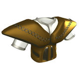 Ceremonial Brestplate. Illustration from online game In Nomine Credimus Royalty Free Stock Photo