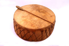 Ceremonial drum Royalty Free Stock Photos