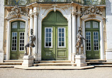Ceremonial facade of the National Palace, Queluz Royalty Free Stock Photos