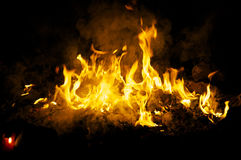 Ceremonial fire Royalty Free Stock Images
