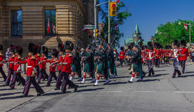 Ceremonial Guard Parade Royalty Free Stock Image